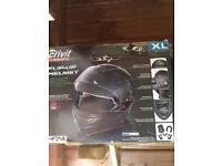 Motorbike flip helmets