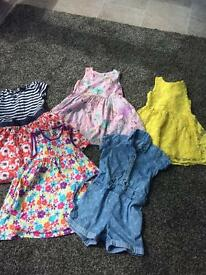 Girls 2/3 years Summer Dresses. Mostly from NEXT