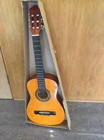 Brand new Pocketmusic Handmade Classical Guitar, 1/2 model, suitable for children