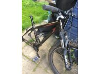 2005 Specialized Myka with Rock Shox Folks, quick release seat and front wheel
