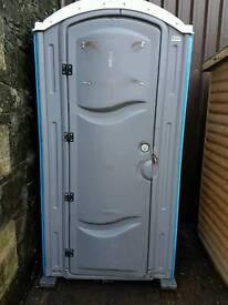 Site toilet. Chemical toilet . Portable toilet