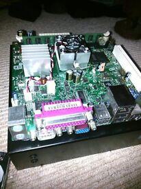 Intel Motherboard D945GCLF2 with 2Gb RAM mini ITX dual core processor included