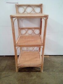 Cane shelving stand