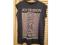Joy Division T-Shirt, light blue