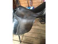 15inch English leather gp saddle