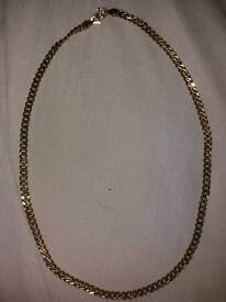 Gold chain (not real gold)