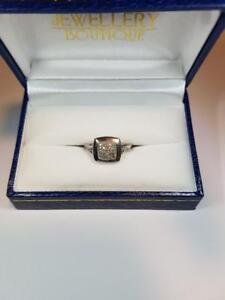 Sterling Silver Diamond Ring, Appraised at $997!