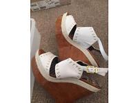 Brand new Jessica Simpson white sandals size 6