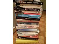 selection of books politics society fiction