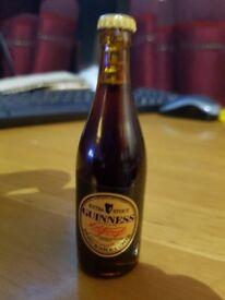 micro bottle of guinness