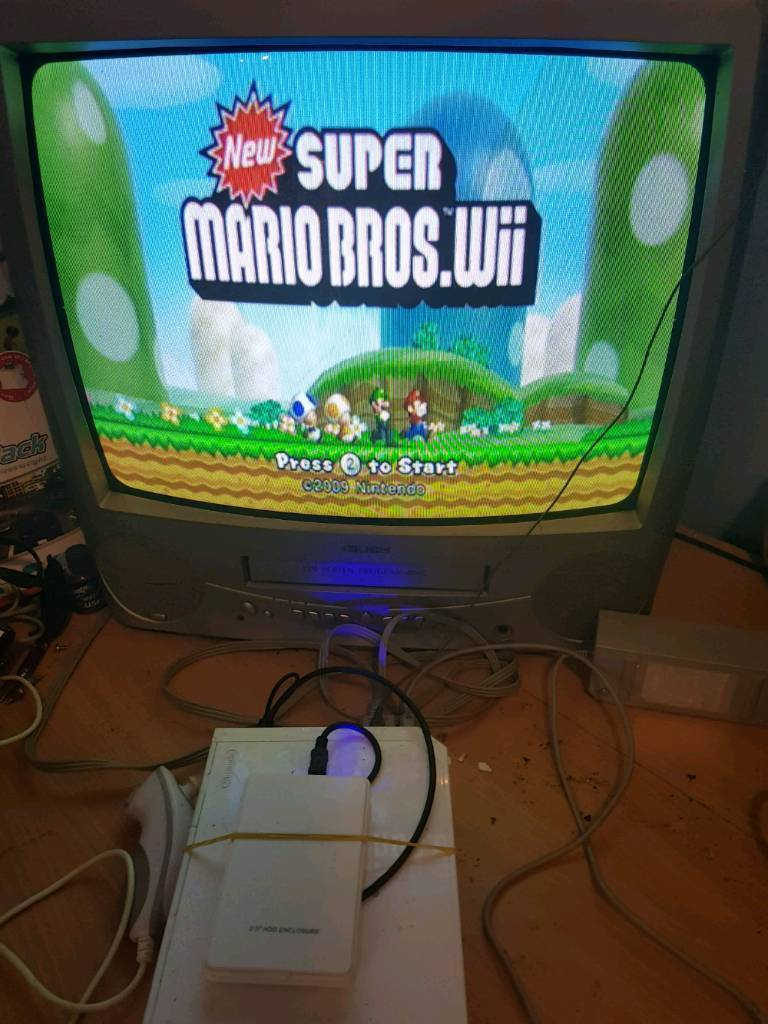 Nintendo Wii with hdd and around 20 games | in Leeds, West Yorkshire |  Gumtree