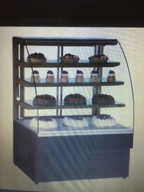 Trimco Zurich 150: Dark Brown Patisserie / Deli Display 1.5m