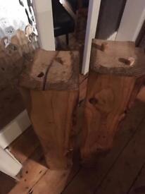 Wooden Oak Beam Fire Surround Mantle