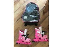 Roller skates shoe size 9-12