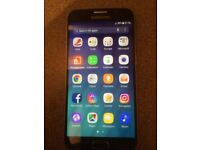 Samsung Galaxy S6 32GB Black Sapphire, Unlocked,vgc no scratches or dents, with box, charger, lead