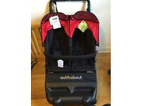 Out and about little nipper double buggy. Brand new with tags.