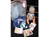 Baby Born Interactive Boy Doll Zapf Creations Toy