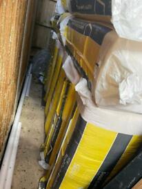 Brand new superglass superwall insulation butt 75mm