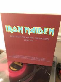 Iron maiden reissue box (box only) metal rock vinyl metal