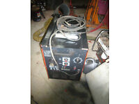 3 Phase Mig 210 Welder with Binzel Gun + cables and gas hose and regulator