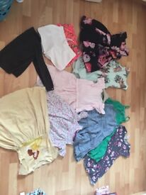Girls summer bundle 6-8 year all in good condition mostly next and a joules dress