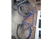 Dawes Vintage bicycle frame 1959 for rebuild