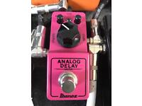 Ibanez Analog Delay Guitar Effects Pedal