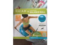 Brand new Gaiam Total Body Balance Ball