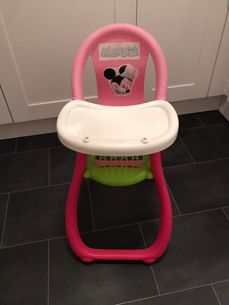 Minnie Mouse baby toy highchair