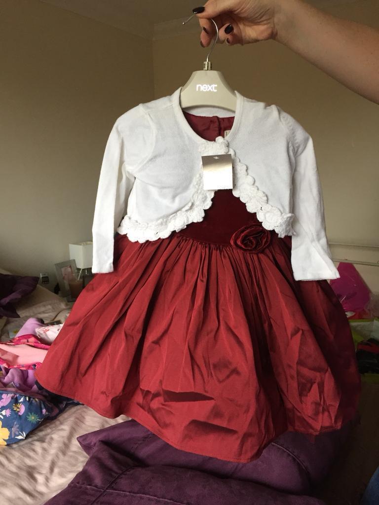 New Next 12>18 month Christmas Dress
