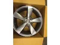 ONLY GOT ONE audi A3 /A4 /A6 alloy wheel for sale. 7.5X 18 £160. call 07860431401