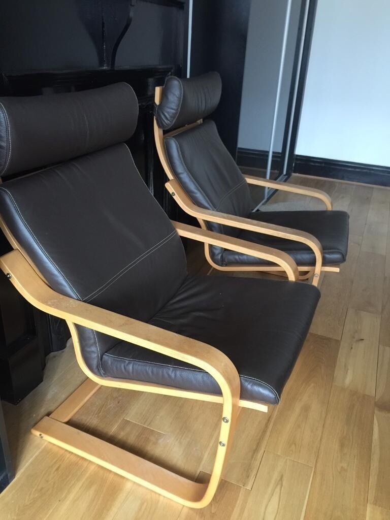 IKEA Leather Arm Chairs | in Newcastle, Tyne and Wear ...