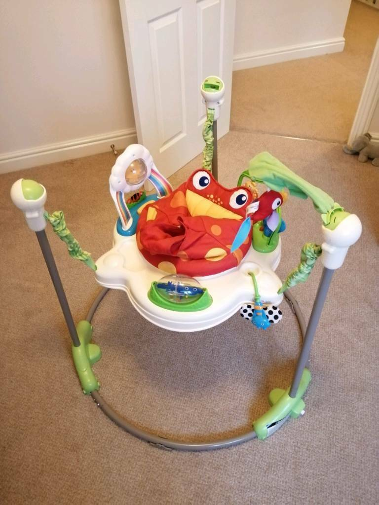 48acc0b289be FISHER PRICE rainforest jumperoo baby bouncer