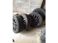 Renault Clio mk3 alloy wheels