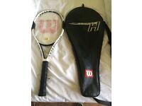Wilson hammer Series H tennis racquet