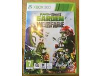 XBox 360 Plants and Zombies Garden Warfare Game