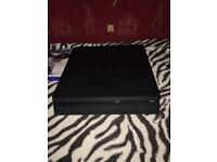 PS4 slim 500gig console with three games cheap!