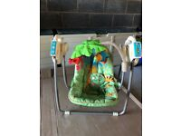 Fischer Price Rainforest Take-Along Baby Swing £25 pick up only