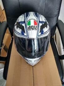 AGV Horizon Scrape motorcycle helmet medium (excellent condition)