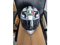 AGV Horizon Scrape motorcycle helmet medium (excellent condition)