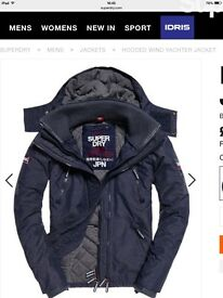 Brand new, gents Superdry jacket (size large)