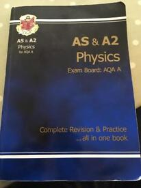 CGP AS and A2 Physics revision and practice book AQA A