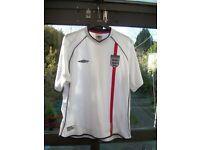 ENGLAND FOOTBALL SHIRT - 2001/2003 - XL