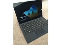 Surface pro 3 i7 256gb SSD 8GB With keyboard and 128gb sd card too!