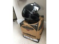 Caberg Metallic Black helmet (open-face) XS