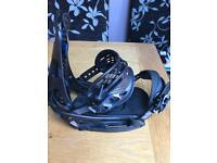 Burton genesis snowboard bindings EST medium
