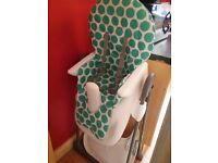 High Chair and tray