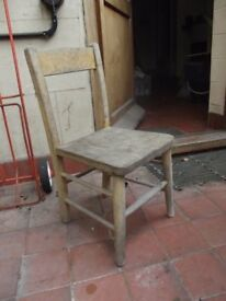 Traditional wood children Chair