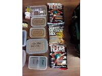 Huge Job Lot Fishing Bait with Camo Holdall, too much too list, see description
