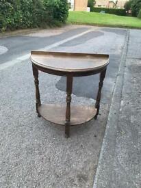 Side hallway table